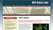 Home page for AGC Dallas.com - AGC Dallas.com profiles TEXO, the Dallas Texas chapter of the Associated General Contractors of America (AGC), providing historical information about its growth and merger with the Fort Worth AGC chapter into QUOIN, and its 2008 merger with ABC of North Texas, to form ABC / AGC Alliance - now called TEXO.