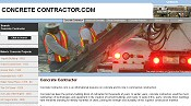 Home page for Concrete Contractor.com, which features write-ups on historic concrete building. An extensive history of concrete is provided, as well as a brief review of tilt-up concrete construction.
