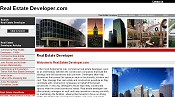 Home page for Real Estate Developer.com, which provides historical descriptions of famous commercial real state developers, descriptions of top real estate developers in Texas and around the country and links to commercial construction and real estate resources on the Internet.