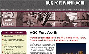 Featured Commercial Construction Website - AGC Fort Worth.com